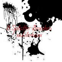 Splatter Brushes by superlibbie