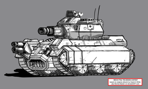 Kampher Heavy Tank by Zanslev