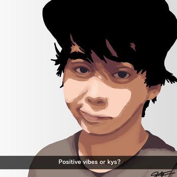 Leafyishere: Positive vibes or kys? by TheMightyShrark