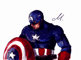 Captain America by Scarlett-pants