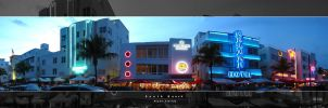 South Beach - Panoramic by king-kong