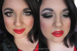 Valentine's Makeup #3 2016 by Cinnamoncandy