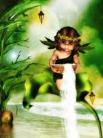 Little Leaf Fae by cheslee