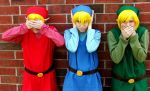 Four Swords Cosplay by thatbloodypirate
