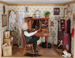 Doctors Office by Ann Maselli by MiniatureMadness