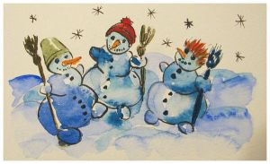 Snowmans nr 5 by pagone