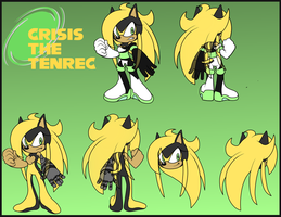 Crisis the Tenrec Reference Sheet by CrisisControl