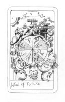 FFIX Tarot: 10 The Wheel... by sugerplumfairygirl