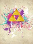 Splash Triforce by B-Rye1001