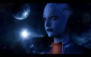 Mass Effect 2 Liara 2 by AgataFoxxx
