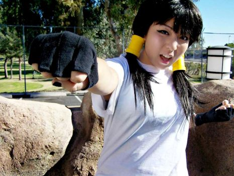 Videl Cosplay - I'm going to punch you in the face by Oniakako