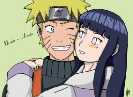 Naruto and Hinata by AlphaDelta1001