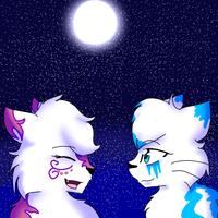 The Moon and the Stars :AT: by StarVeeWolf