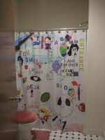 Shower Curtain by Chaindive