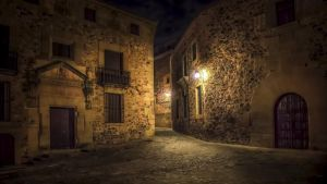Caceres Night by Levantera