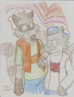 Them Coons by MessatsuGouFox