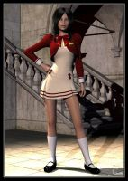 Aiko Girl In Uniform by celticarchie