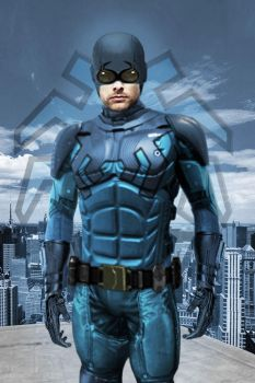 Blue Beetle Poster Armored Edition by Rated-R4-Ryan