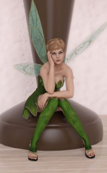 Tinkerbell - 1 by johngate2014