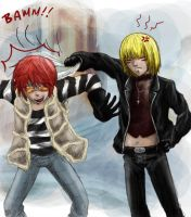 I mean... sorry, Mello... by rayn44