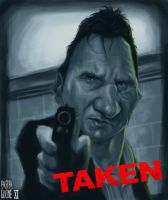 Liam Neeson by Parpa