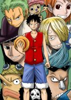One Piece - Nakama by kentaropjj