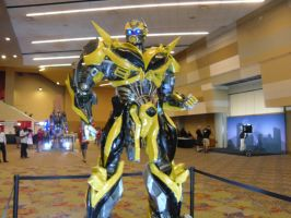 Bumblebee by Elemental-wyvern