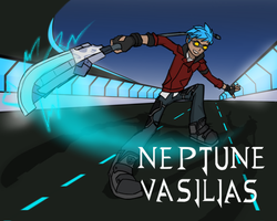 RWBY - Neptune Vasilias by lightning-in-my-hand