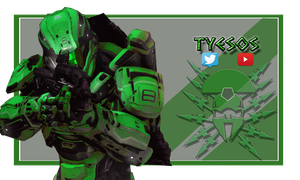 Twitch banner by Tyesos