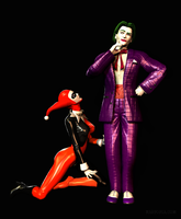 Joker and Harley by Shallon4000