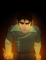 Bolin is Fire by AbductionFromAbove