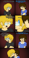 Another ProtonConroy fluff comic. by NintendoRainbow