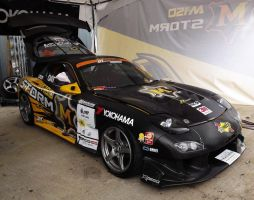 M-Storm Yokohama Singha with Overdrive RX-7 FD3S by sudro