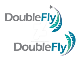 DoubleFly Logo by sampdesigns