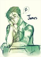 A Tiring Day At The Office :James Sunderland: by Bippie