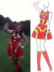 Iron Man Dress by Misguided-Ghost1612