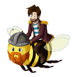 Bee Coyboy by TheAngelicMuffin