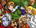 LOZ: Skyward Sword by Hanamichama