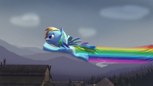 Wallpaper #2 Rainbow Dash by EDplus