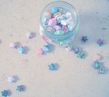 ORIGAMI Paper Star 3 by Sajo95