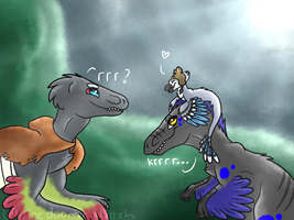 dinosquad by thedoomedkitteh