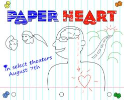 paper heart by SublimeBudd