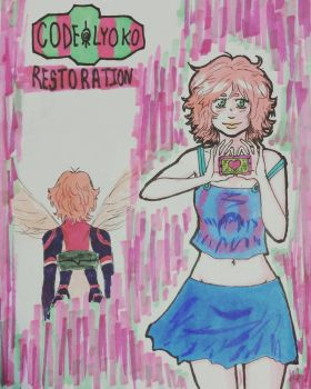 A look at Aelita  by spookylolly