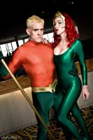 Aquaman and Mera 5 by megmurrderher