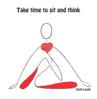 Stick Figure Sitting Pose by SophlyLaughing