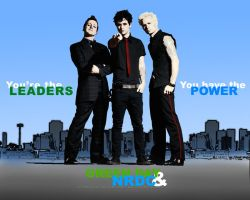 Green Day + NRDC wallpaper 9 by alexloony