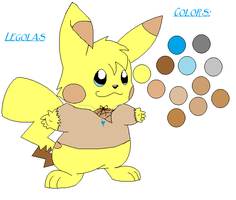 Legolas The Pikachu Ref by GrowlitheArtistGirl