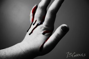 Bloody Hand by 13Ghouls