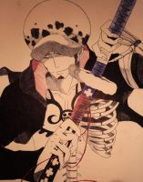 Trafalgar Law by Wolfofshiver