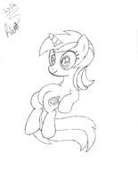 Lyra sketch by Scoutaloo